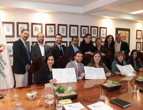 Convenio de colaboración entre el Gobierno Municipal de Arandas y la Universidad Nueva Ciencia