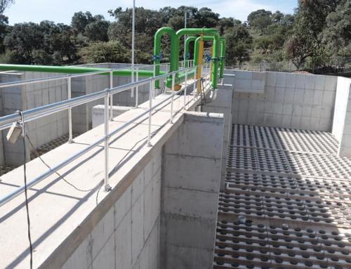 Avances en la planta tratadora de agua al 75%